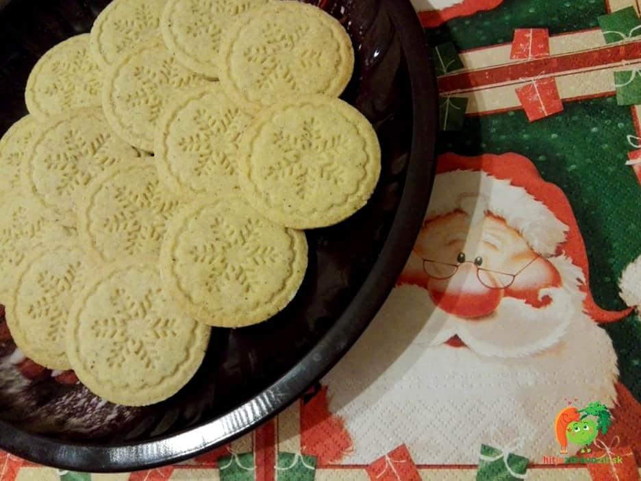 Vanilkové sušienky s potlačou