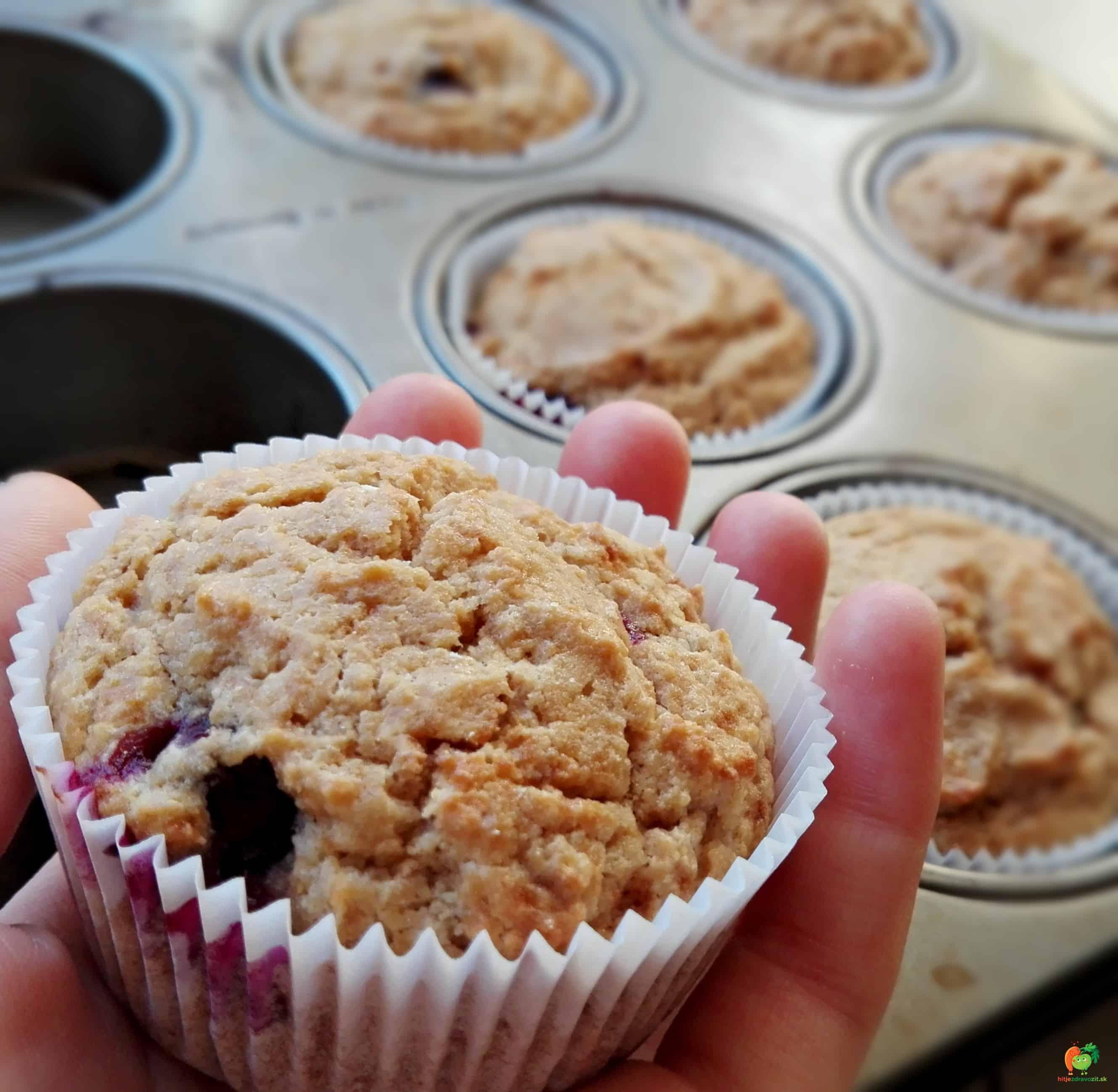 Čučoriedkové muffiny