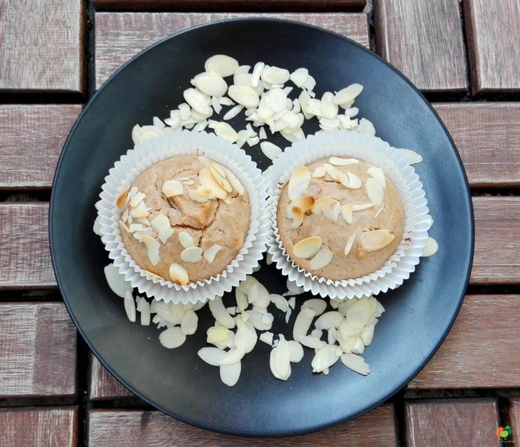 mandľové muffiny 2
