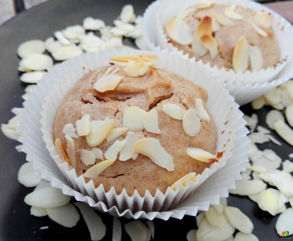mandľové muffiny 3