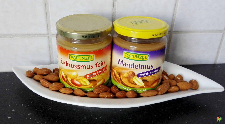 Arašidová a mandľová pasta (recenzia + recepty)
