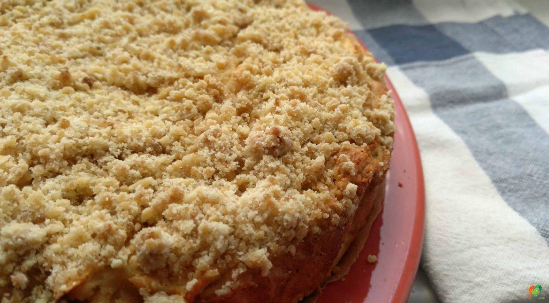 Jablková torta s mrveničkou