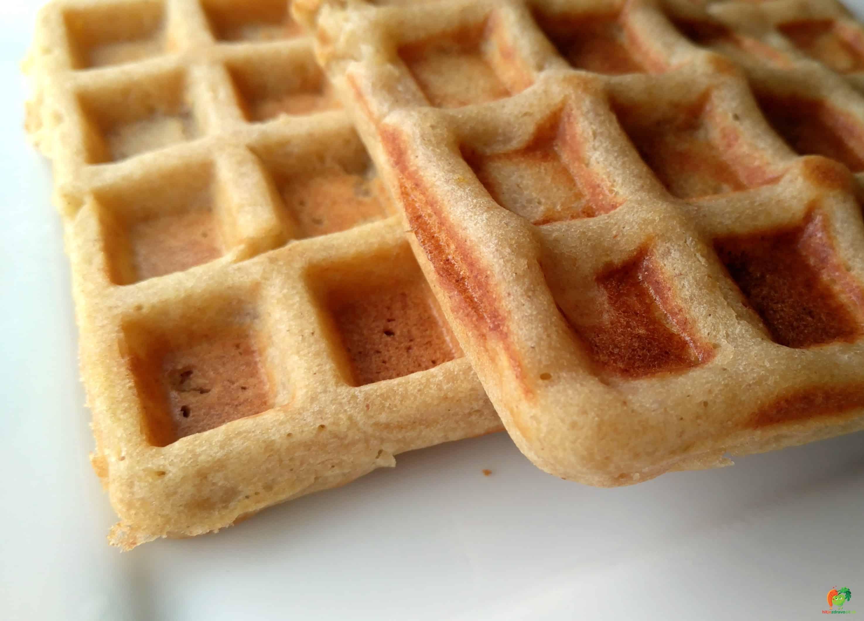 Bezlepkové wafle (vegan)