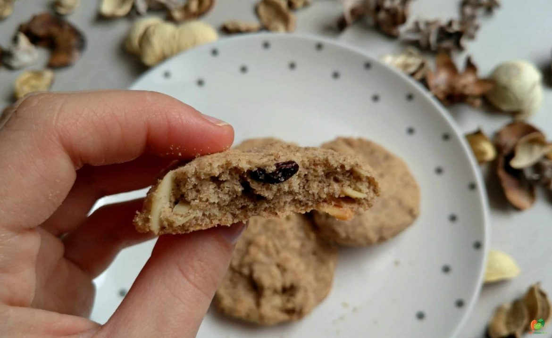 Cookies s raw kakaovými bôbmi