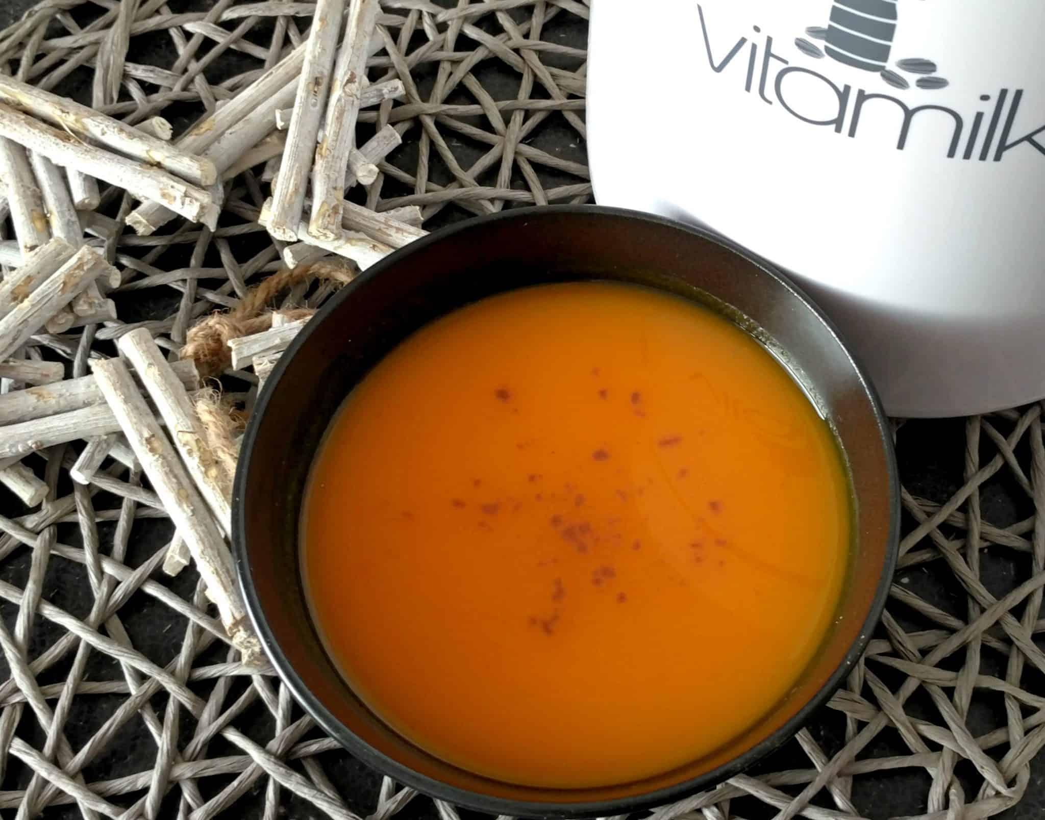 Tekvicovo-batatová polievka