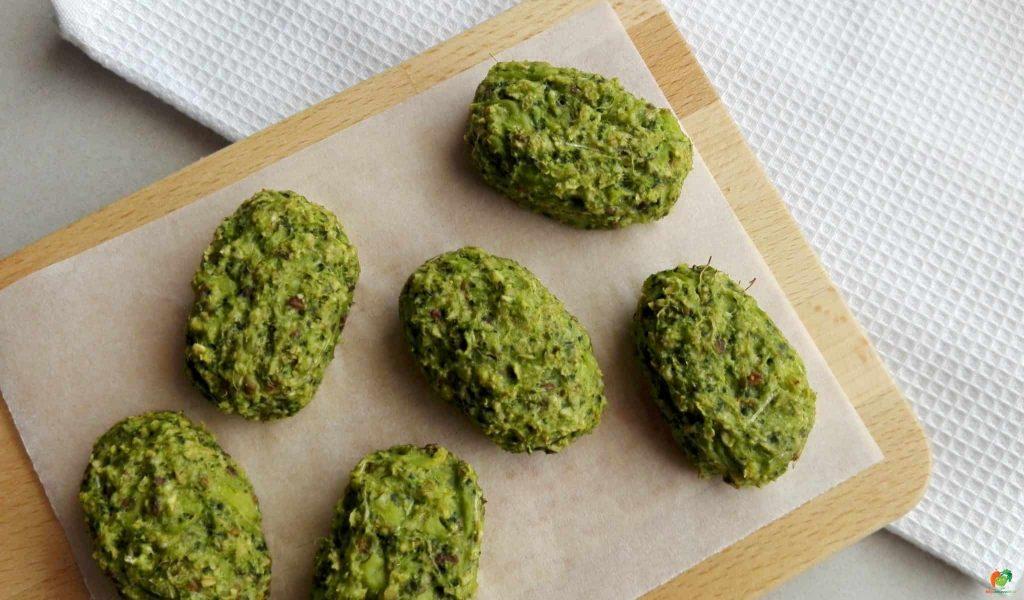 brokolicové mini fašírky 2