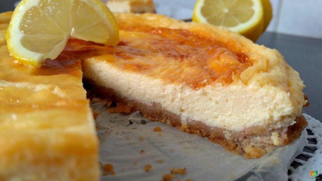 citronový cheesecake 2