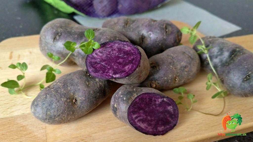 fialové zemiaky