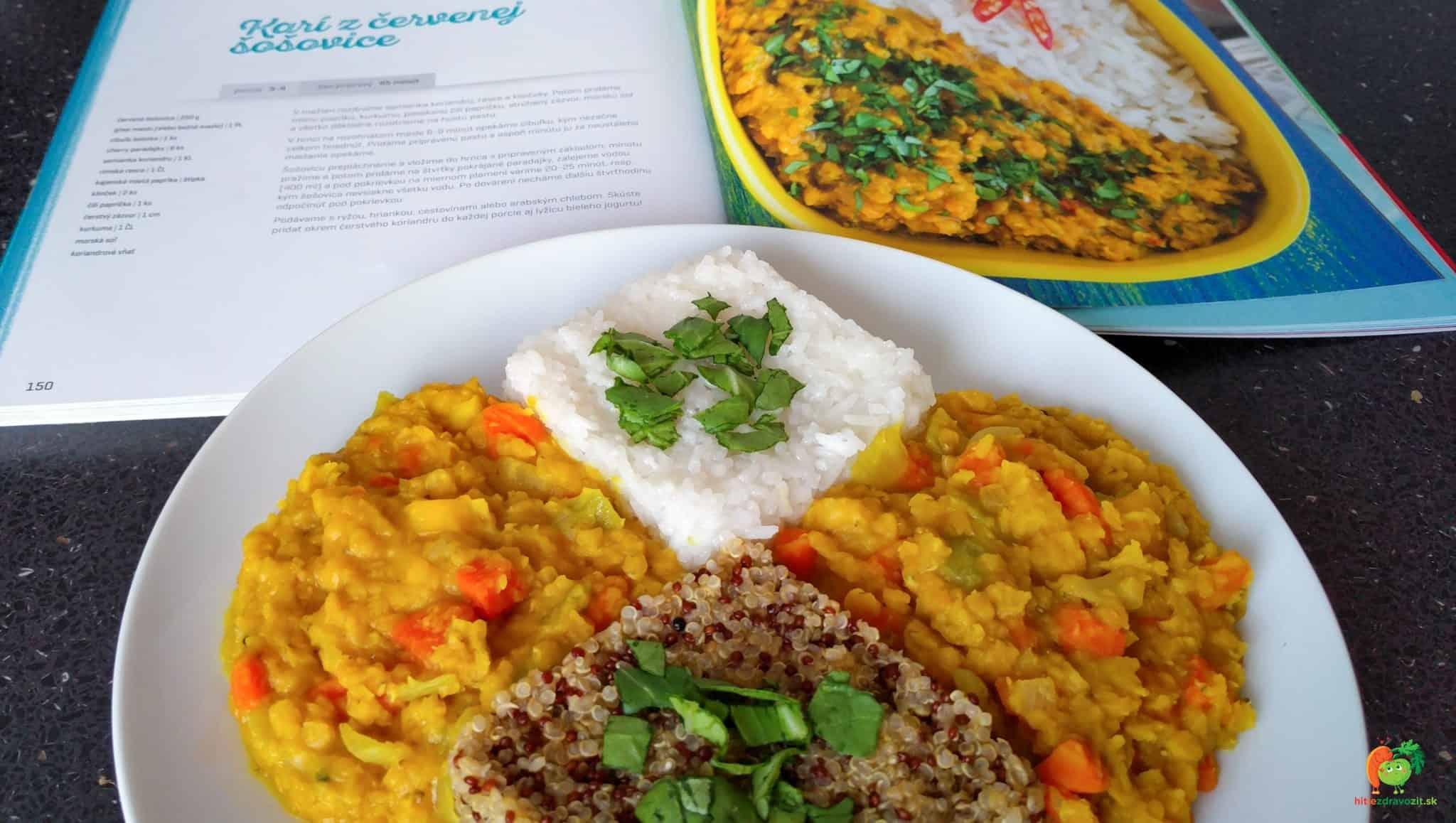 Curry z červenej šošovice