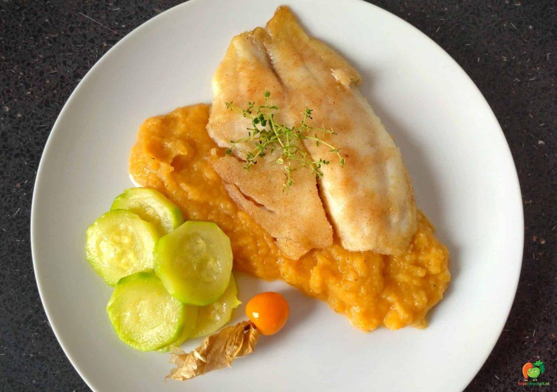 Tilapia so zeleninovým pyré