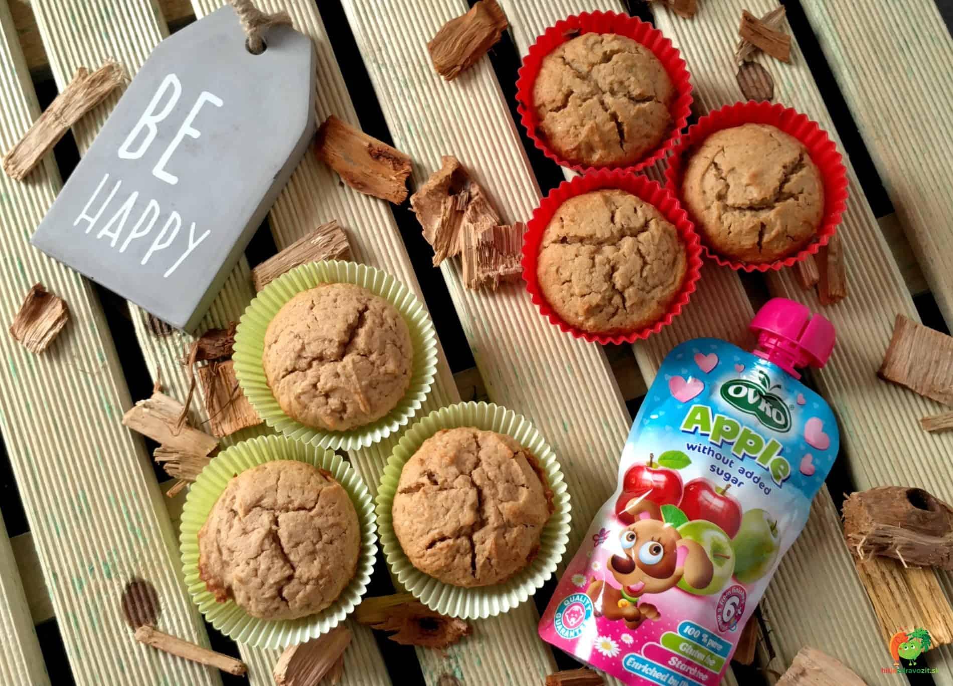 Jablkové OVKO muffiny