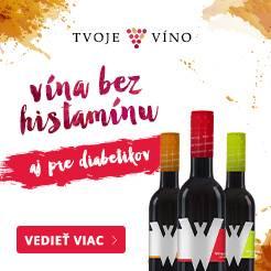 Bezhistamínové vína