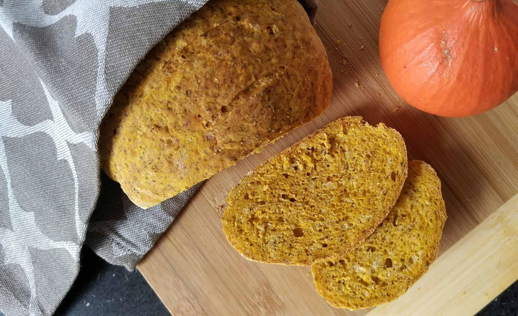 Tekvicový chlieb (pečivo pre histaminikov)