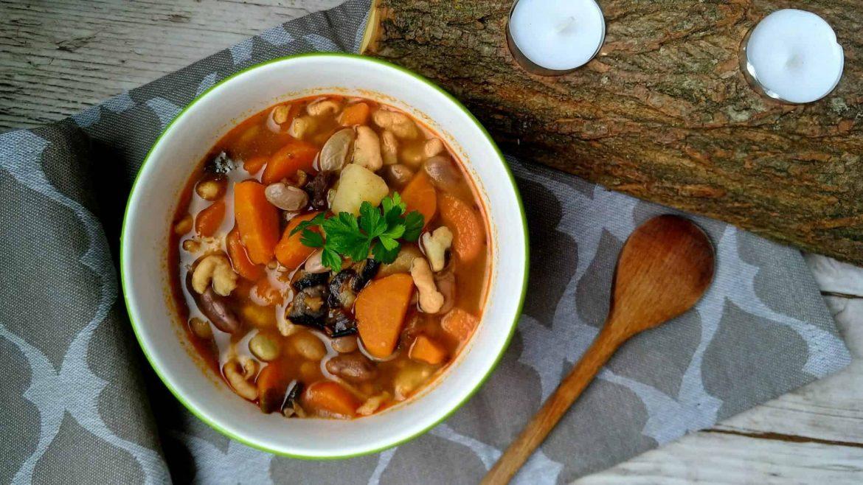 Fazuľová melencová polievka