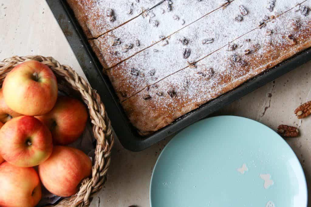 Tradičný jablkový koláč