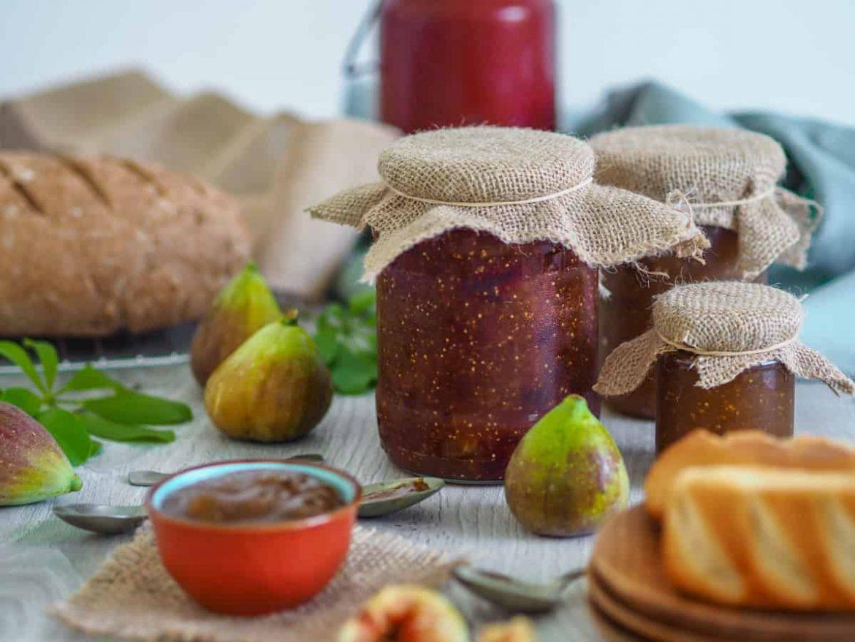 Figovo - slivkový džem