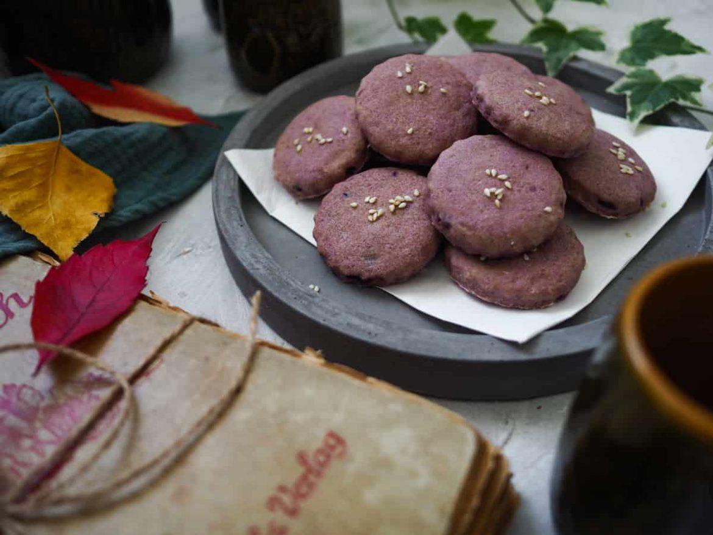 Pagáče z fialových zemiakov |vegan|