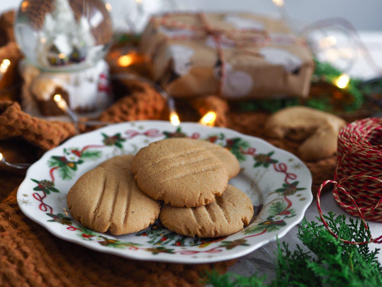 Vegan cookies s arašidovým maslom